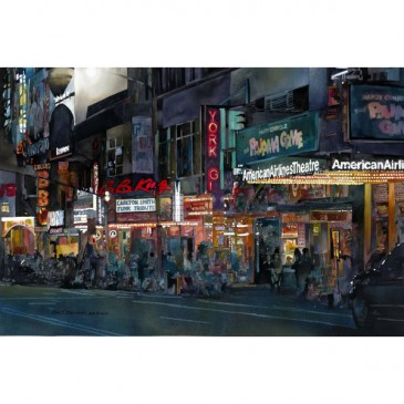 42nd Street NYC – original sold