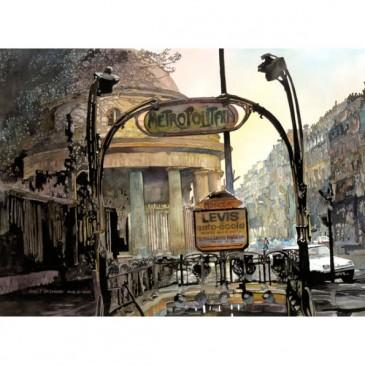 Paris Metro – original sold