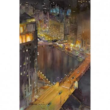 Chicago River – original sold