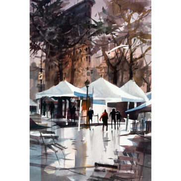 Madison Square Park, pleine aire – Original Has Sold
