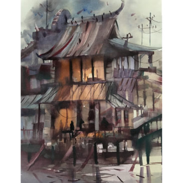 Wuzhen Dusk – Original Sold