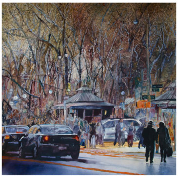 Bryant Park Kiosk – Original Has Sold