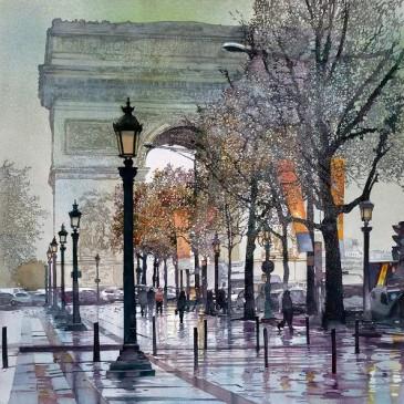 Champs Elysees – original sold