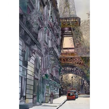 Eiffel Tower – original sold