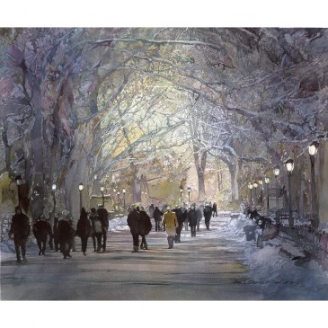 The Mall – Central Park – original sold