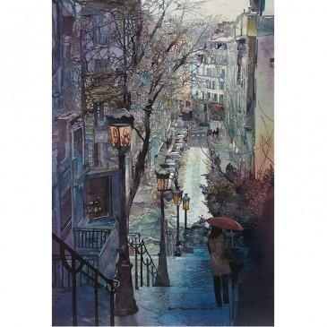 Parisian Stairs – original sold