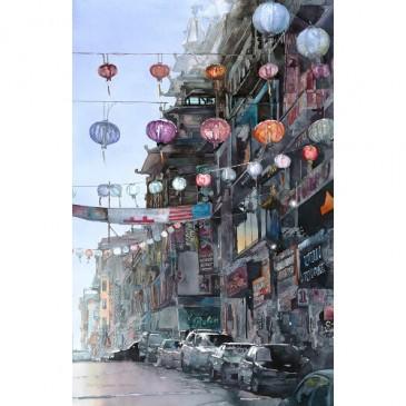 San Francisco Lanterns – original sold