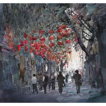 Beijing Lanterns – original sold