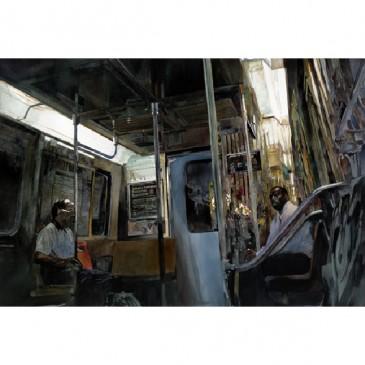 On The Train – original sold