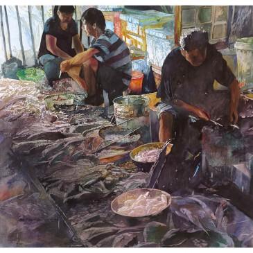 Lushan Market – original sold