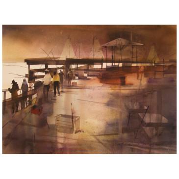 Springmaid Pier – Original sold