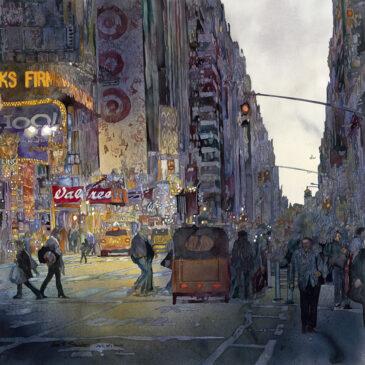 Times Square Shadows – Original has sold